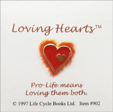 Loving Hearts Pin