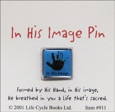 In His Image Pin