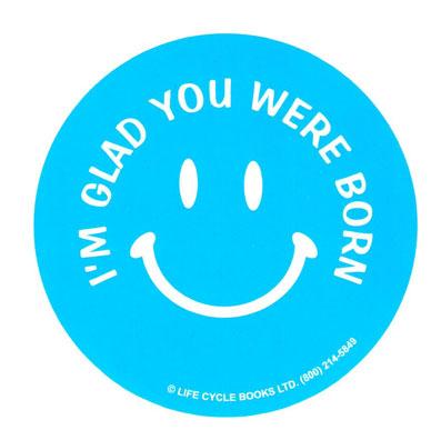 Button - I'm Glad You Were Born
