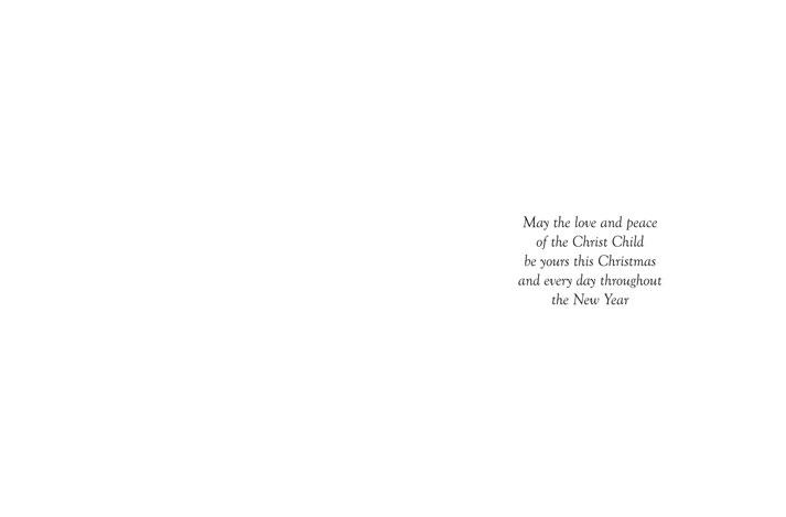 Christmas Card #4055 Verse