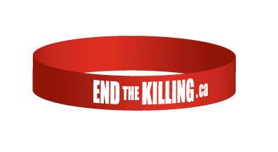 Bracelet - End the Killing