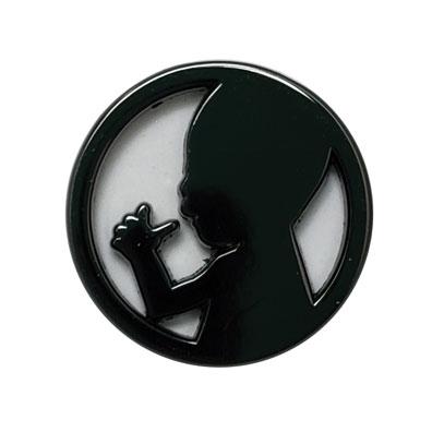 We Need a Law logo Pin