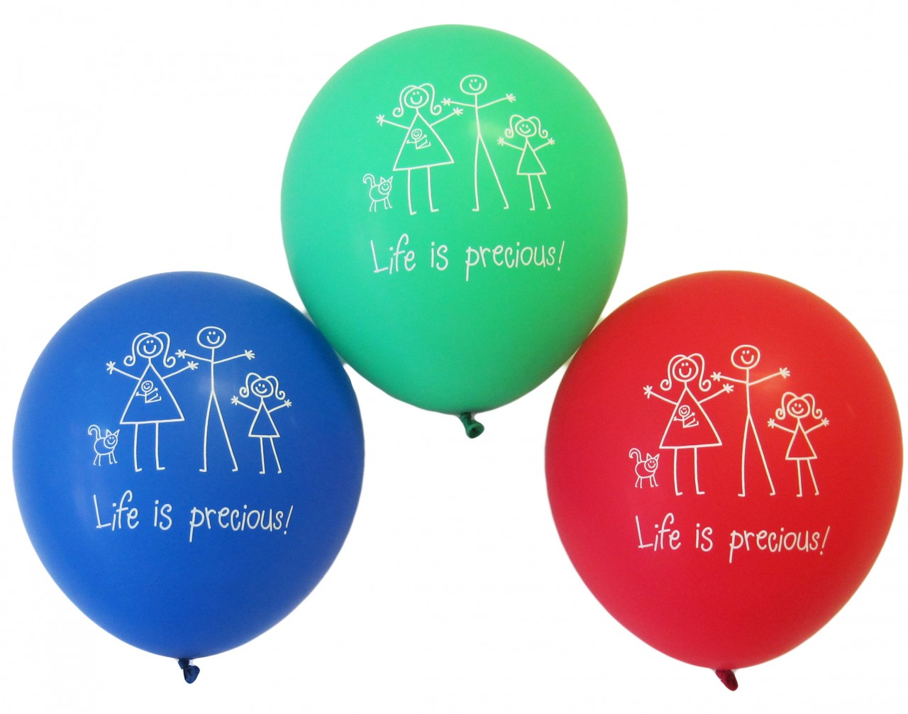 Balloon - Life is Precious - Pack of 100
