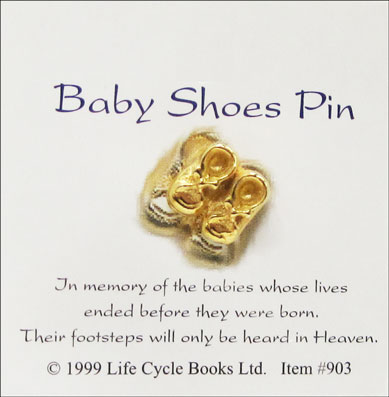 Baby Shoes Pin