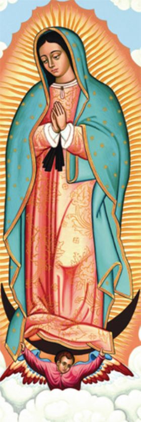 Bookmark - Our Lady of Guadalupe - Pack of 100