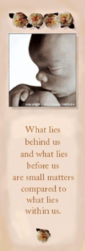 Bookmark - What Lies Behind Us - Pack of 100