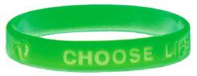Bracelet - Choose Life - Green