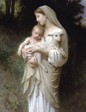 Christmas Card - L'Innocence (Madonna & Child) - Pack of 10