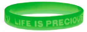 Bracelet - Life Is Precious - Green
