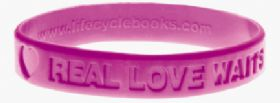 Bracelet - Real Love Waits - Pink
