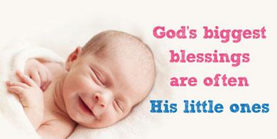 Banner - God's Biggest Blessings