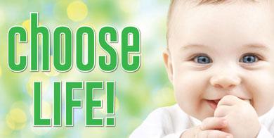 Banner - Choose Life