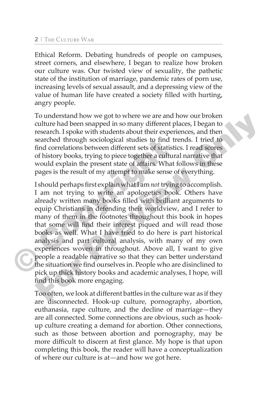 Book - The Culture War - Introduction
