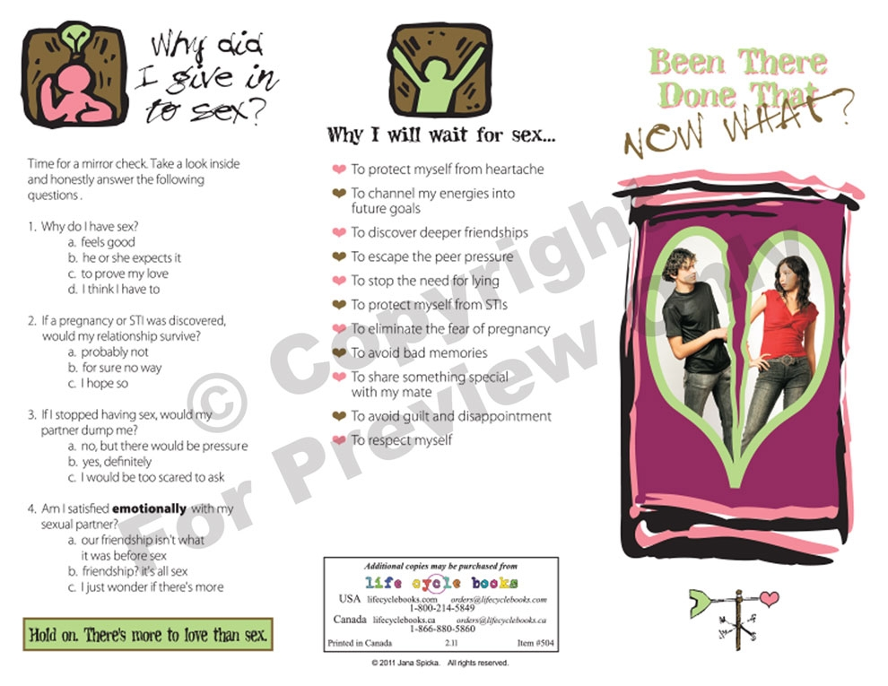 Brochure - Been There Done That Now What