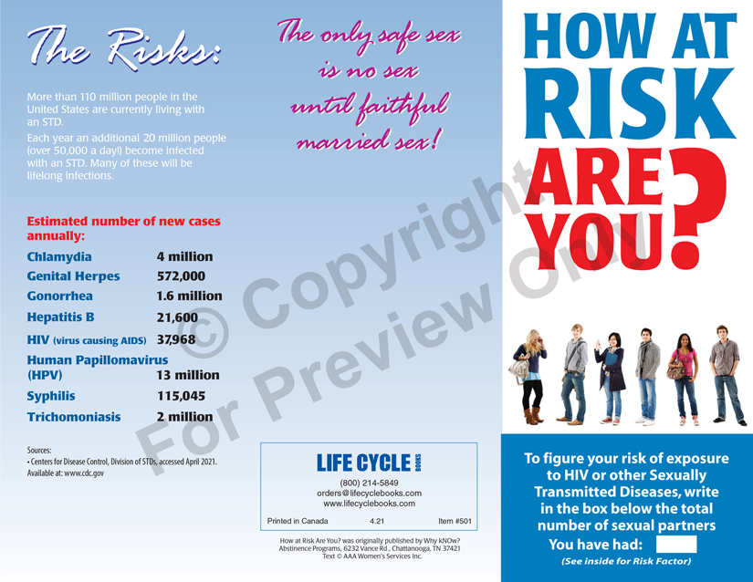 Brochure - How At Risk Are You