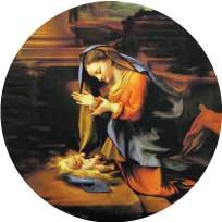 Acrylic Christmas Ornament #467
